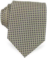 Forzieri Polkadot Woven Silk Tie