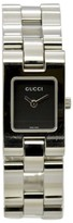 Gucci 2305L Stainless Steel Black Dial Quartz 17mm Mens Watch