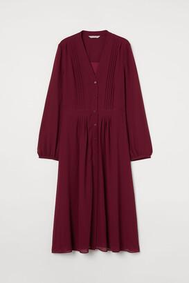 H&M Pin-tuck-detail Dress