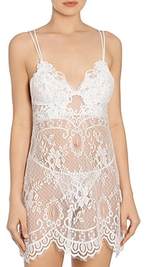 Jonquil Lace Chemise & G-String