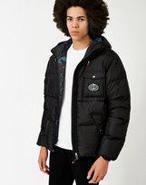 Poler Burner Puffer Jacket Black