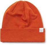 Norse Projects Merino Wool Beanie - Orange