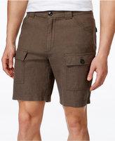Tasso Elba Men's Linen-Blend Cargo Shorts, Only at Macy's