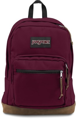 JanSport Backpack Right Pack Russet Red
