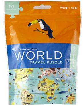 On the Go Travel Puzzle (World)
