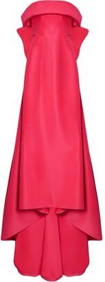 Carolina Herrera Bow-Detail Silk Dress