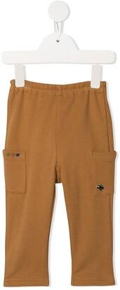 Familiar Patch Pocket Track Pants
