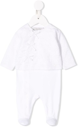 Christian Dior Embroidered Pyjama Babygrow