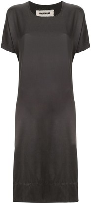UMA WANG short-sleeve midi dress