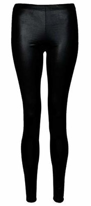 VR7 Wet Look Leggings Women Pants Shiny Stretch S Liquid Metallic Size Leather Plus Regular Us Faux Skinny Trousers UK Size 8-26 (UK Size S/M(8-10)