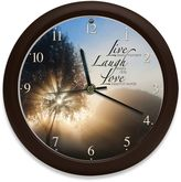 Bed Bath & Beyond Inspirational Live Love Laugh Clock