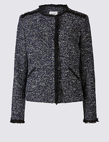 Classic Textured 2 Pocket Jacket