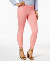 Hue Women's Gingham Denim Skimmer Leggings