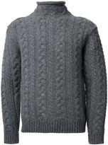 Bedwin&the Heartbreakers Bedwin & The Heartbreakers cable knit jumper