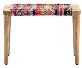 Bungalow Rose Auden Solid Wood Bench