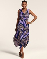 Chico's Scarf Print Hailey Dress
