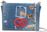 DSQUARED2 DD crossbody denim bag - women - Cotton/Metal (Other) - One Size