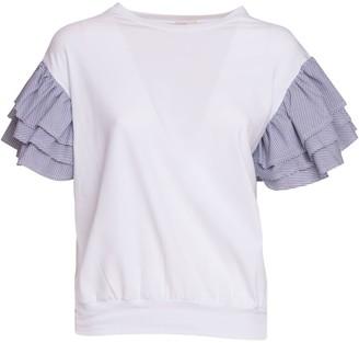 Stefano Mortari Lim S. Mortari Flounces T-shirt