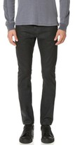 AG Jeans Dylan Coated Slim Jeans