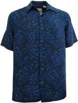 Vintage Silk Mens Silk Camp Shirt Hawaiian Beach Cool Floral Casual