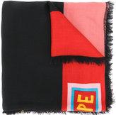 Fendi printed scarf - men - Silk/Wool - One Size