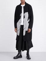 Yohji Yamamoto Samurai wool cardigan