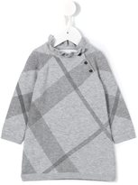 Burberry checked knit top