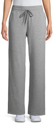 Athletic Works Women's Wide Leg Pants Available in Regular and Petite