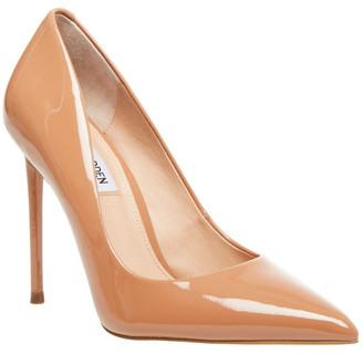 Steve Madden Vala Camel Patent Heeled Shoes