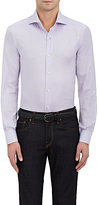 Isaia Men's Cotton Piqué Dress Shirt