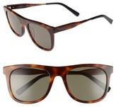 Salvatore Ferragamo Men's 55Mm Sunglasses - Tortoise