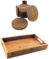 Berghoff Bamboo Coaster & Tray Bar Set (8 PC)