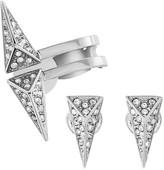 Swarovski Birth Pierced Earrings Set