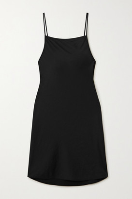 Alexander Wang Wash And Go Charmeuse Mini Dress