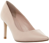 Dune Wide Fit Abbigail Stiletto Heeled Court Shoes, Pink