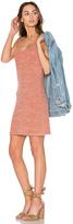 Bobi V Neck Mini Dress