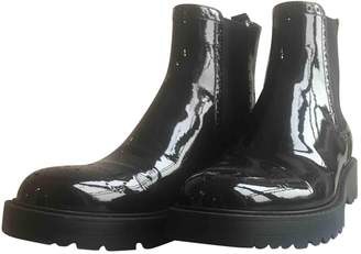 Prada Black Patent leather Ankle boots