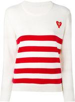 Peter Jensen striped jumper - women - Cotton - L