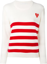 Peter Jensen striped jumper - women - Cotton - XS