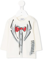 Moschino Kids - printed sweatshirt - kids - Cotton - 3-6 mth