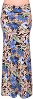 KMystic Printed Mermaid Maxi Skirt with Side Slits (Large/XLarge, )