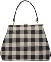 Mansur Gavriel Black Checker Elegant Bag