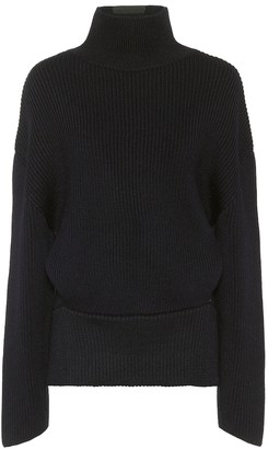 Balenciaga Upside-Down wool turtleneck sweater