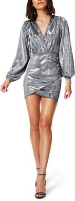 Ramy Brook Bonny Long Sleeve Sheath Minidress