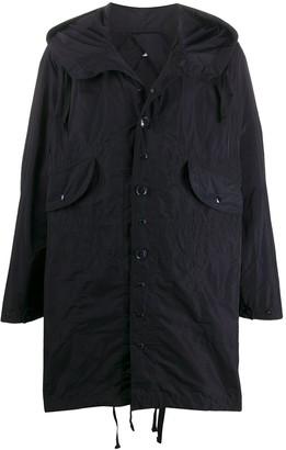 Engineered Garments Oversized Hooded Raincoat