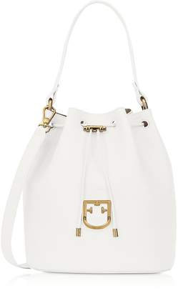 Furla Corona S Drawstring Bucket Bag