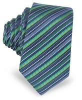 Laura Biagiotti Men's Blue/green Silk Tie.