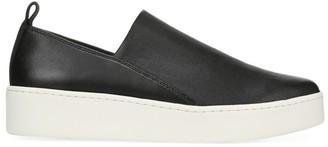 Vince Saxon Leather Platform Sneakers