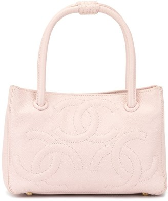 Chanel Pre Owned Triple CC tote