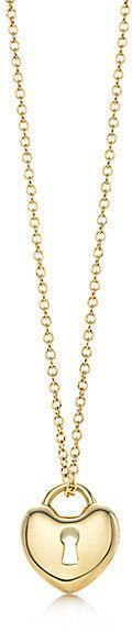 Tiffany & Co. Locks:Heart Lock Pendant